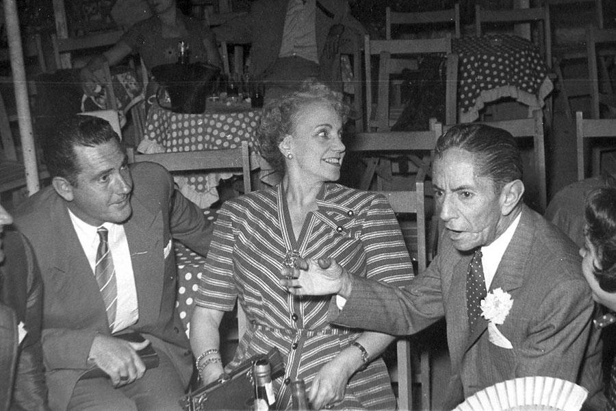 Agustín Lara et Juan Cortés, 1953