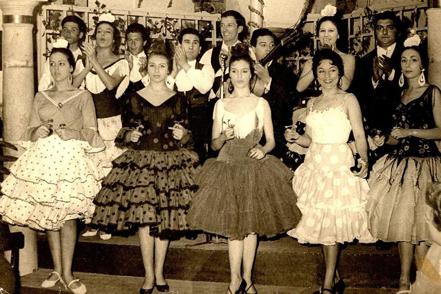 Lupe, Cristina Hoyos et El Farruco, 1958