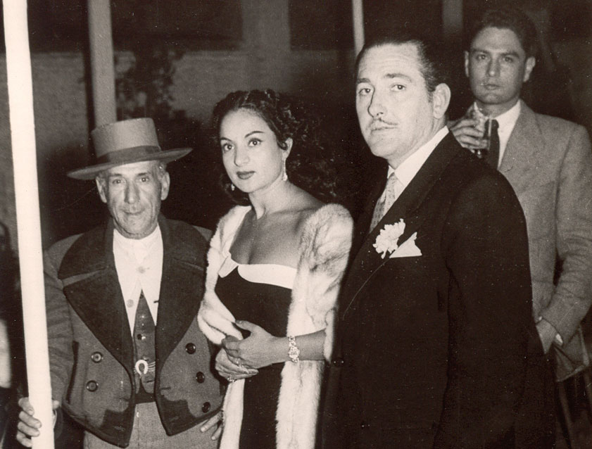 Lola Flores y Juan Cortés, 1954